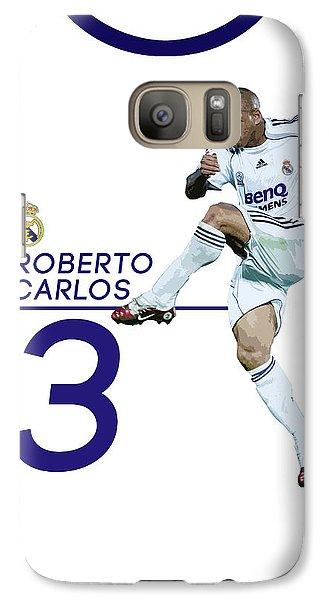 Roberto Carlos Galaxy S7 Case by Semih Yurdabak
