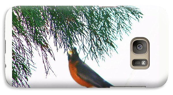 Galaxy Case featuring the photograph Robin 2 by Lenore Senior