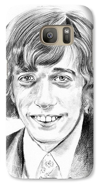 U2 Galaxy S7 Case - Robin Gibb Drawing by Suzann's Art