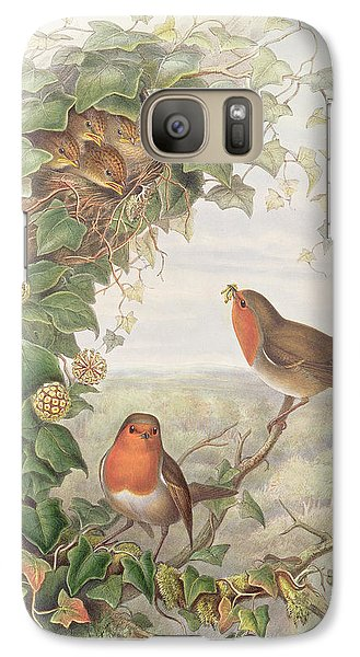 Robin Galaxy Case by John Gould