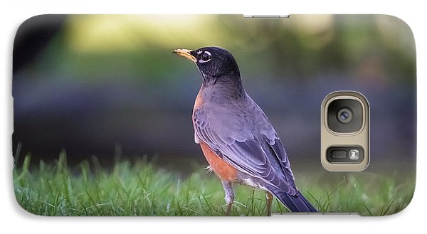 Galaxy Case featuring the photograph Robin by Kathy King