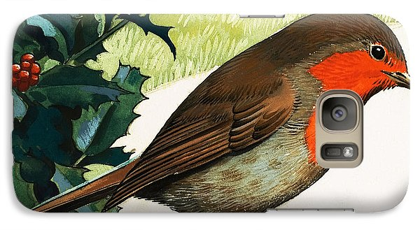 Robin Redbreast Galaxy S7 Case