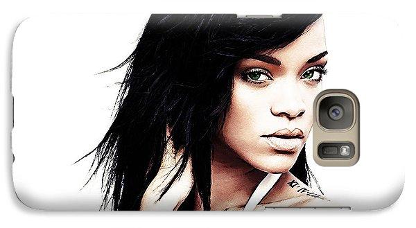 Robyn Rihanna Fenty Galaxy S7 Case by The DigArtisT