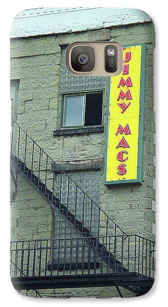 Galaxy Case featuring the photograph Rochester, New York - Jimmy Mac's Bar 2 by Frank Romeo