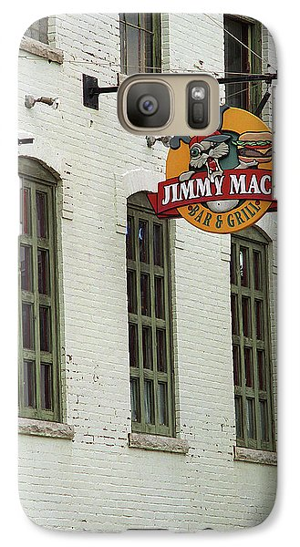 Galaxy Case featuring the photograph Rochester, New York - Jimmy Mac's Bar 3 by Frank Romeo