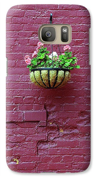 Galaxy Case featuring the photograph Rochester, New York - Purple Wall by Frank Romeo