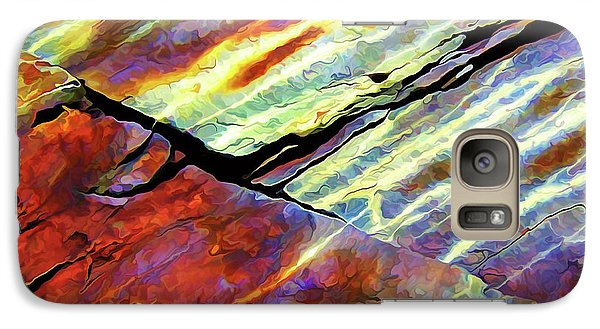 Galaxy Case featuring the photograph Rock Art 16 by ABeautifulSky Photography