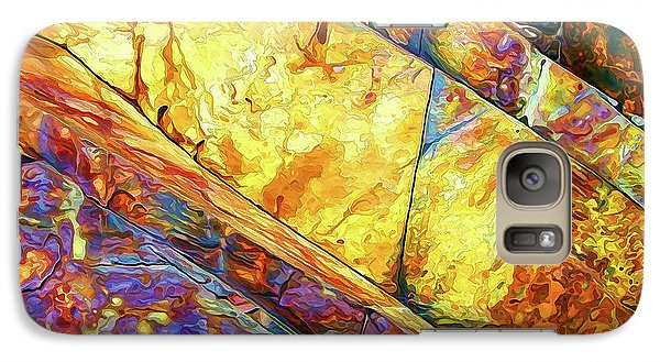 Galaxy Case featuring the photograph Rock Art 23 by ABeautifulSky Photography