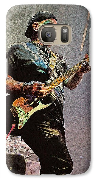 Galaxy Case featuring the photograph Rock Guitar Player by Jim Mathis