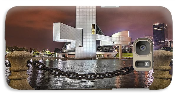 Galaxy Case featuring the photograph Rock Hall And The North Coast by Brent Durken
