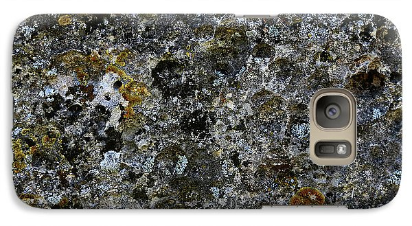 Rock Lichen Surface Galaxy S7 Case
