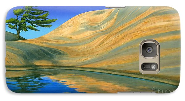 Galaxy Case featuring the painting Rock Of Ages by Michael Swanson