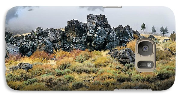 Galaxy Case featuring the photograph Rock Outcrop by Frank Wilson