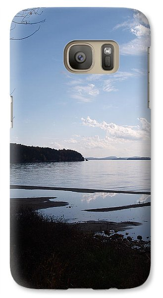 Galaxy Case featuring the photograph Rock Point North View Vertical by Felipe Adan Lerma