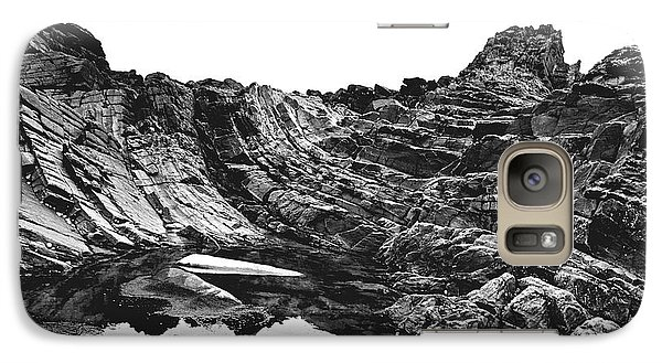 Galaxy Case featuring the photograph Rock by Rebecca Harman