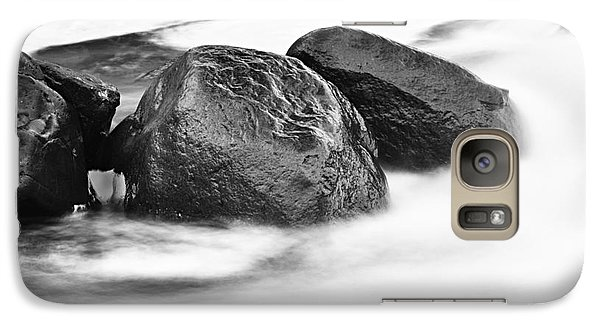 Galaxy Case featuring the photograph Rock Solid by Larry Ricker