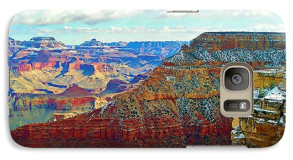 Galaxy Case featuring the photograph Rock Solid by Roberta Byram
