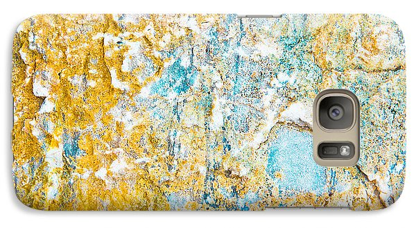 Rock Texture Galaxy Case by Tom Gowanlock