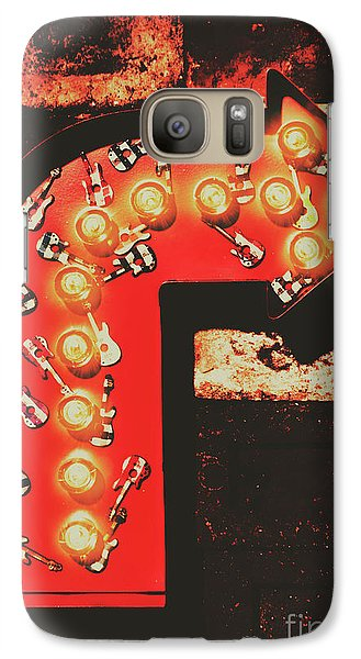 Galaxy Case featuring the photograph Rock Through This Way by Jorgo Photography - Wall Art Gallery