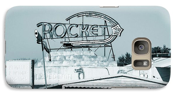 Galaxy Case featuring the photograph Rocket Inspection by Elena Nosyreva