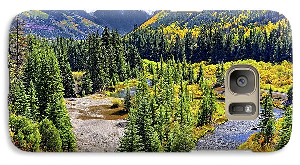 Rockies And Aspens - Colorful Colorado - Telluride Galaxy S7 Case