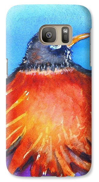 Galaxy Case featuring the painting Rockin Robin by Patricia Piffath