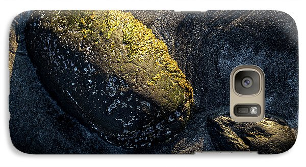 Galaxy Case featuring the photograph Rocks From Talisker Beach 1 by Davorin Mance