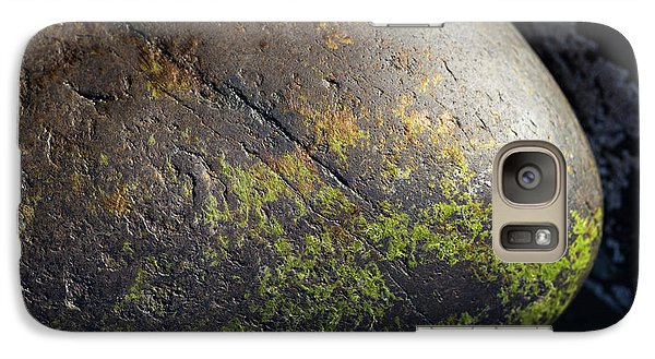 Galaxy Case featuring the photograph Rocks From Talisker Beach 3 by Davorin Mance