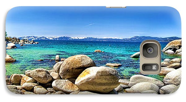 Galaxy Case featuring the photograph Rocky Cove Sand Harbor by Jason Abando