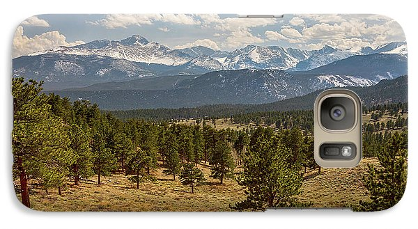 Galaxy Case featuring the photograph Rocky Mountain Afternoon High by James BO Insogna