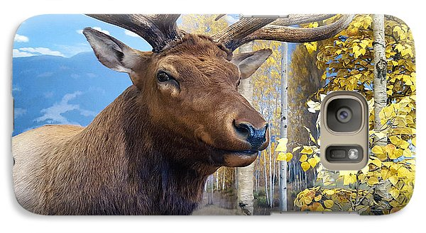 Galaxy Case featuring the photograph Rocky Mountain Elk by Karon Melillo DeVega