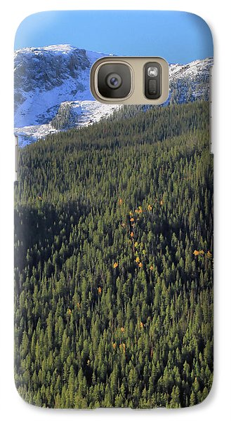 Galaxy Case featuring the photograph Rocky Mountain Evergreen Landscape by Dan Sproul