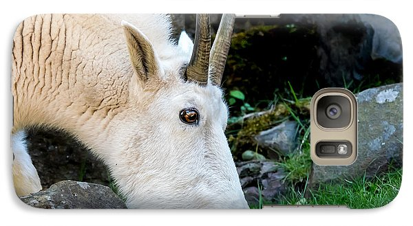 Rocky Mountain Goat Busy Eating Galaxy S7 Case