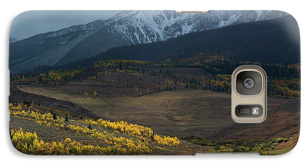 Galaxy Case featuring the photograph Rocky Mountain Horses by Aaron Spong