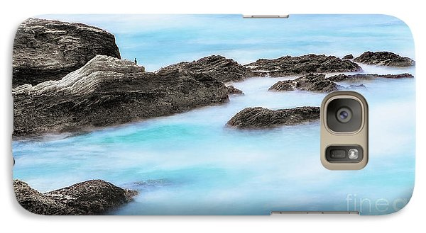 Galaxy Case featuring the photograph Rocky Ocean by John A Rodriguez