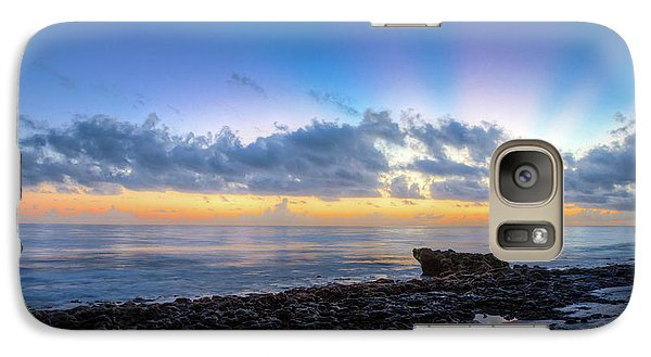 Galaxy Case featuring the photograph Rocky Reef At Low Tide by Debra and Dave Vanderlaan