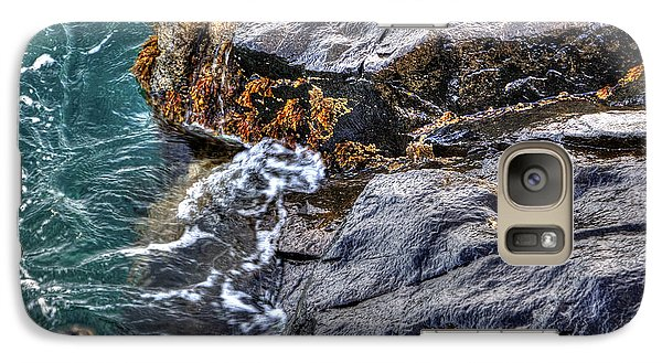 Galaxy Case featuring the photograph Rocky Shores by Adrian LaRoque