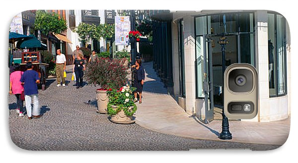 Rodeo Drive, Beverly Hills, California Galaxy S7 Case by Panoramic Images