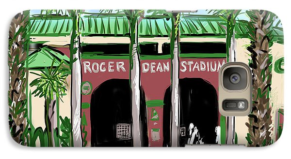Roger Dean Galaxy S7 Case - Roger Dean Stadium by Jean Pacheco Ravinski