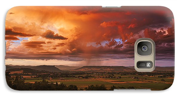 Rogue Valley Sunset Galaxy S7 Case