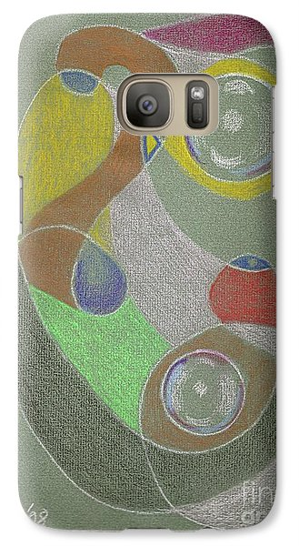Roley Poley Vertical Galaxy S7 Case by Rod Ismay