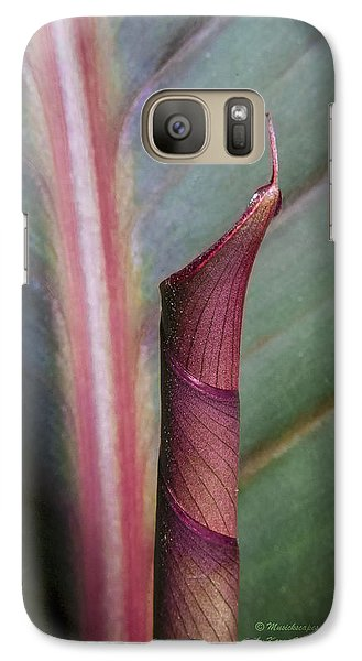 Galaxy Case featuring the photograph Roll Our The Red Carpet by Karen Musick