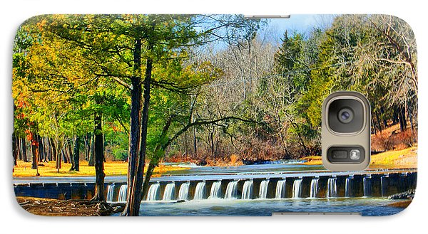 Galaxy Case featuring the photograph Rolling Down The River by Rick Friedle