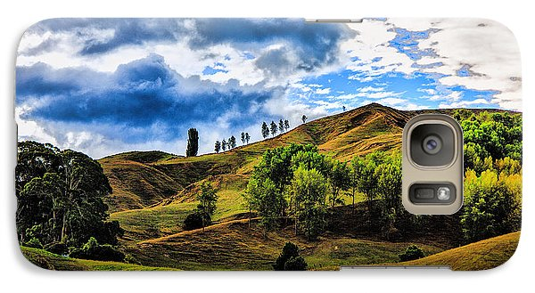 Galaxy Case featuring the photograph Rolling Hills by Rick Bragan