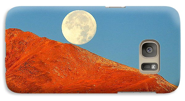 Rolling Moon Galaxy S7 Case by Karen Shackles