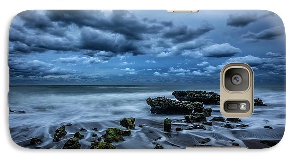 Galaxy Case featuring the photograph Rolling Thunder by Debra and Dave Vanderlaan