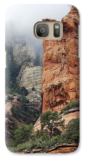 Galaxy Case featuring the photograph Rollings Mists by Phyllis Denton