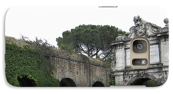 Galaxy Case featuring the photograph Roman Aqueduct by Manuela Constantin