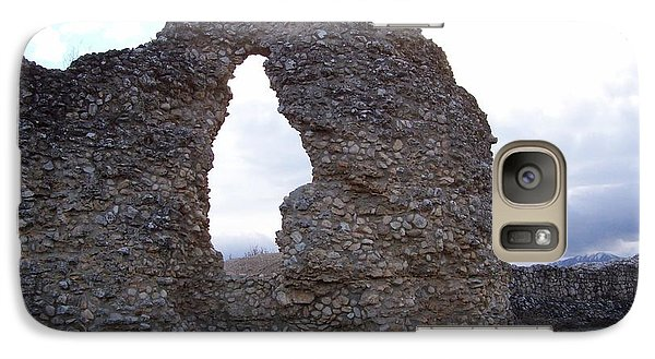 Galaxy Case featuring the photograph Roman Ruins by Judy Kirouac