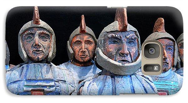 Galaxy Case featuring the photograph Roman Warriors - Bust Sculpture - Roemer - Romeinen - Antichi Romani - Romains - Romarere by Urft Valley Art